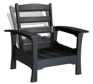 Decks Plus - Poly Furniture Recl Chair