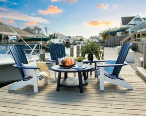 Decks Plus - Fanback-Chairs-and-Conversation-Table