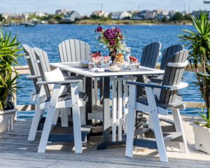 Decks Plus - Poly Furniture Table Set