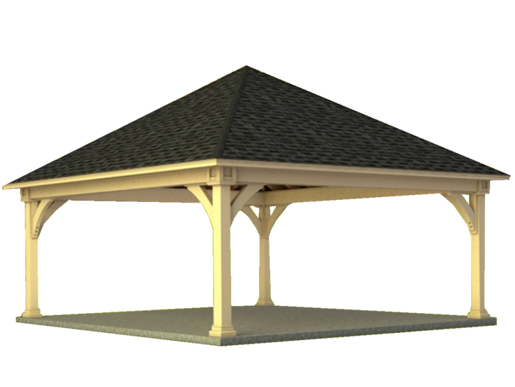 Decks Plus Custom Designed Pavilions