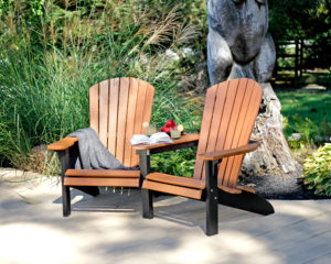 Decks Plus - Fanback Settee Chairs - Poly Furniture