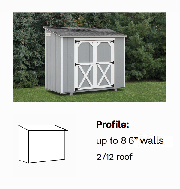 Lean-To Sheds - Decks Plus