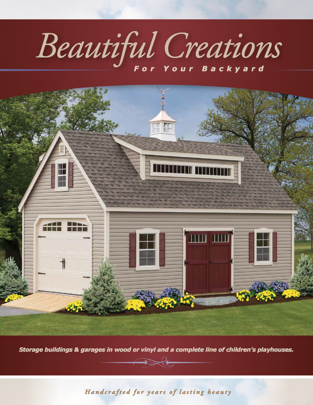 Beautiful Creations Shed Catalog - Decks Plus